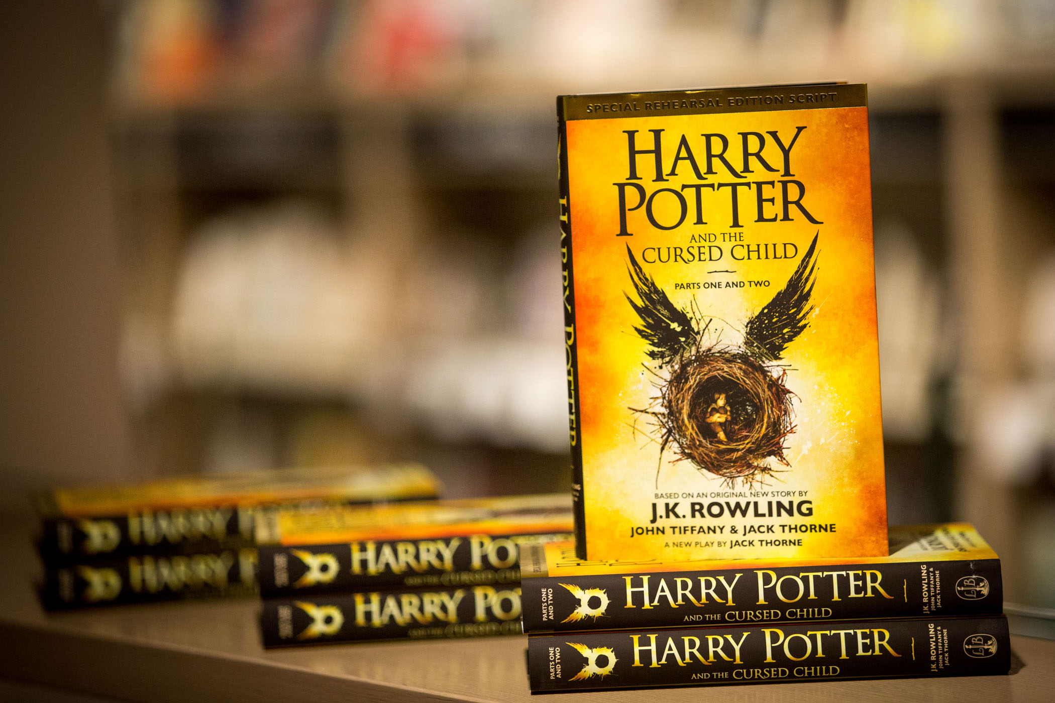 """Harry Potter And The Cursed Child"" - Book Release At Foyles"