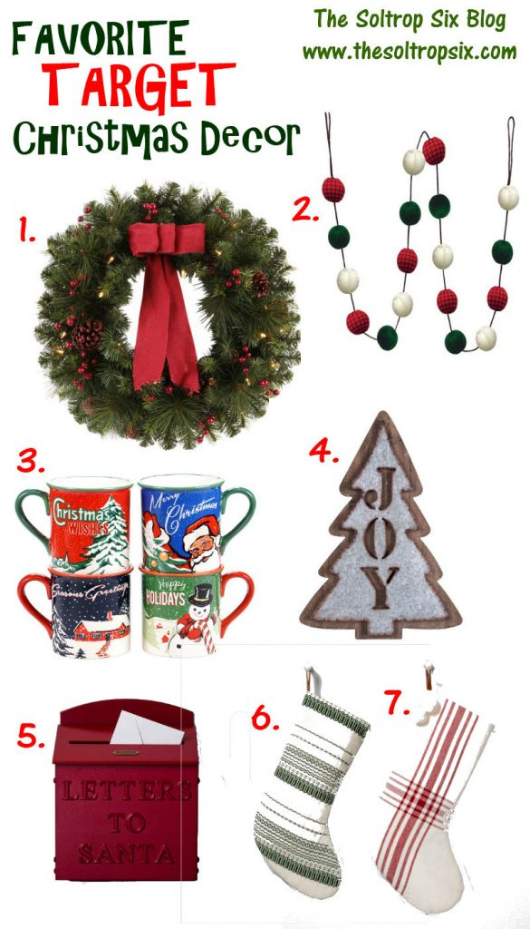 I Put Together My Favorite Christmas Décor Items From Target Duh Everything Would Fit In Perfectly With Our Theme
