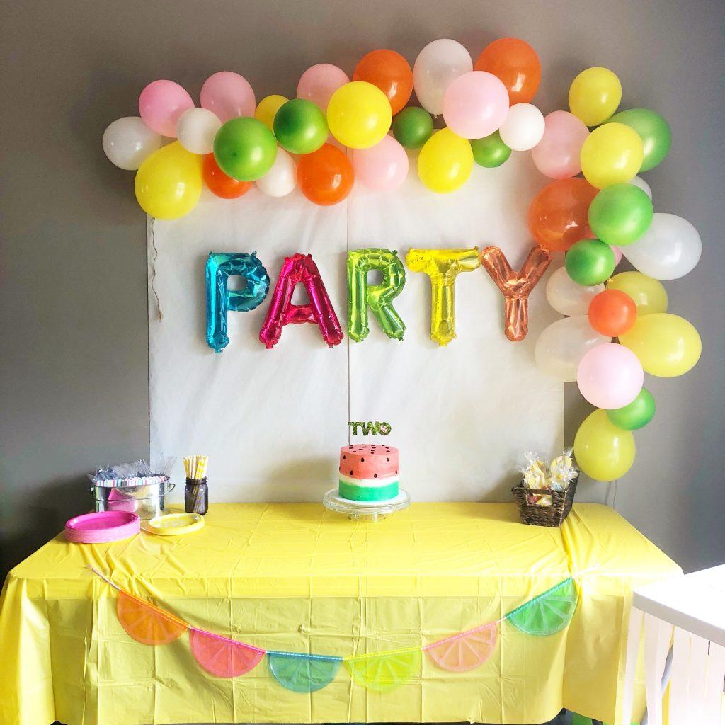 Twotti Fruitti 2nd Birthday Party